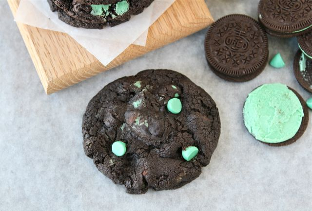 ... , make these Chocolate Mint Oreo Cookies. They are sure to be a hit