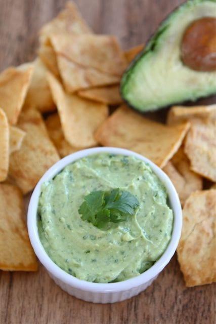Creamy Avocado Yogurt Dip Recipe   Avocado Dip Recipe ...