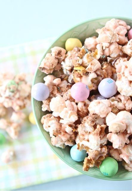 Salted Caramel Easter Popcorn Recipe — Dishmaps