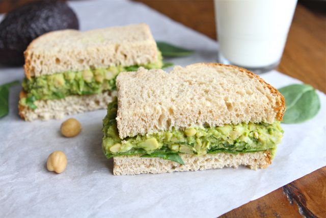 Smashed Chickpea & Avocado Salad | Chickpea Salad Recipe ...