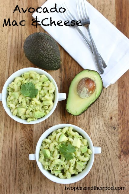 Avocado Mac and Cheese Recipe | Stovetop Mac and Cheese | Two Peas ...