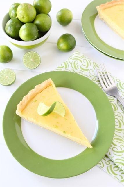 Key Lime Tart Recipe | Two Peas & Their Pod