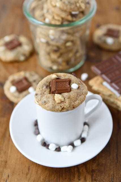 Mini S'mores Cookies | S'mores Cookie Recipe | Two Peas & Their Pod
