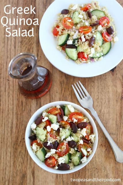Greek Quinoa Salad Recipes Greek quinoa salad