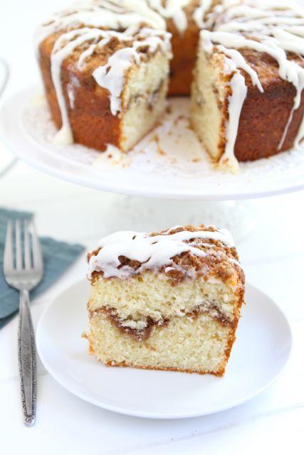 Yogurt Coffee Cake Recipe