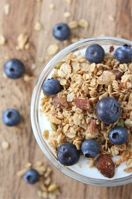Coconut Granola Recipe | Homemade Granola Recipe | Two Peas & Their ...