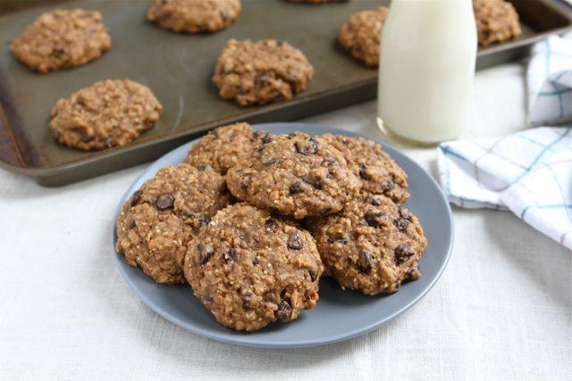 Quinoa Cookies | Quinoa Cookie Recipe | Two Peas & Their Pod