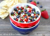 Red, White & Blue Salsa | Two Peas and Their Pod