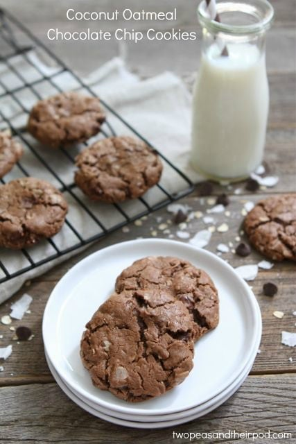 Granola Cookies With Chocolate Chips & Coconut Recipes — Dishmaps