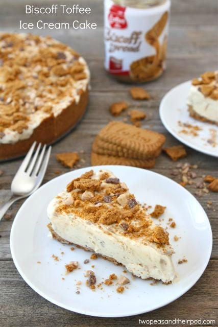 Biscoff Toffee Ice Cream Cake Recipes — Dishmaps