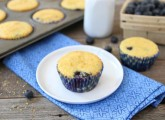 Blueberry Corn Muffins (Two Peas and Their Pod)