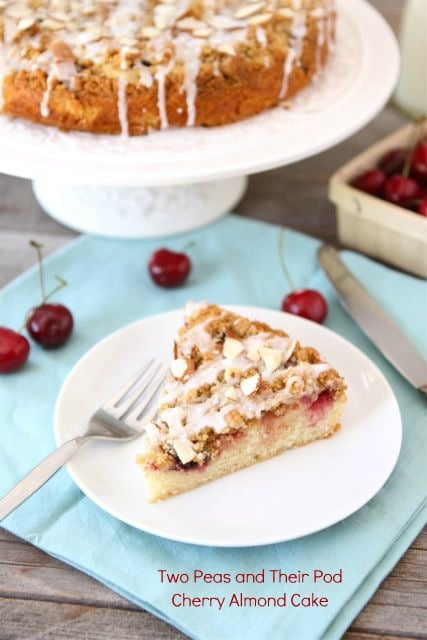 Almond Cake Related Keywords & Suggestions - Cherry And Almond Cake ...