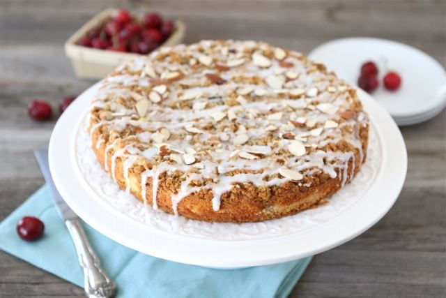 Cherry Almond Cake Recipe | Fresh Cherry Cake Recipe | Two Peas ...