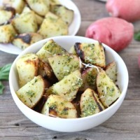 Grilled Pesto Potatoes-Two Peas and Their Pod