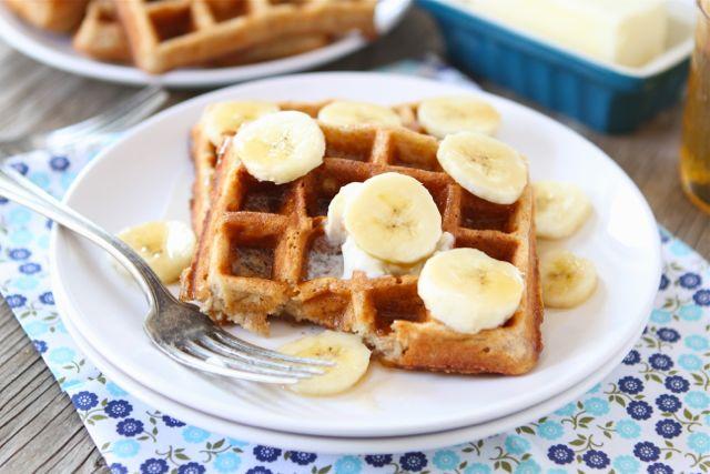 Brown Butter Banana Waffles Recipe — Dishmaps