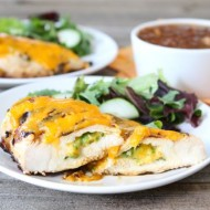 Jalapeño Cheddar Grilled Chicken | Two Peas and Their Pod