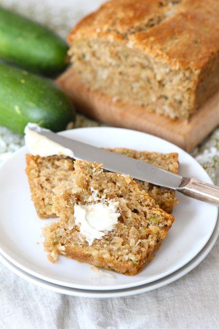 Zucchini Coconut Bread Recipe | Zucchini Bread Recipe | Two Peas ...