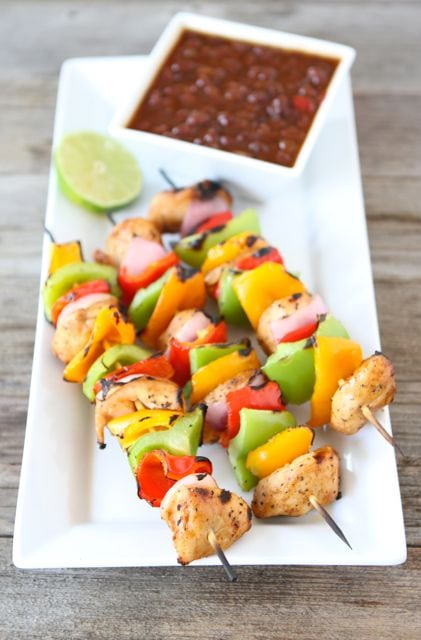 Hawaiian chicken kabob recipes
