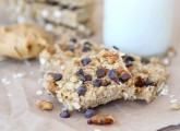No-Bake Peanut Butter Pretzel Chocolate Chip Granola Bars-Two Peas and Their Pod