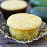 Zucchini Cheddar Corn Muffins | Two Peas and Their Pod #recipe