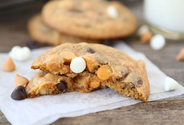 Cookie Recipe Butterscotch And Chocolate Chips And Coconut And Oriole