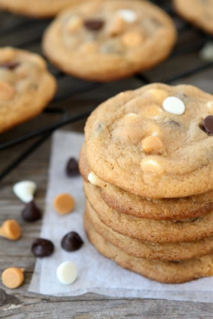 Butterscotch Pudding Triple Chip Cookies | Two Peas and Their Pod (www ...