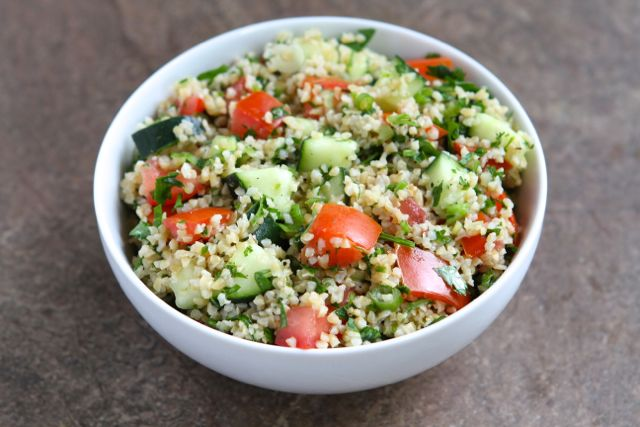 ... dish to add to your Labor Day menu, make this easy Tabbouleh Salad