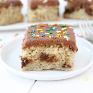 Banana Nutella Swirl Cake with Nutella Frosting | Two Peas and Their Pod (www.twopeasandtheirpod.com) #recipe #cake