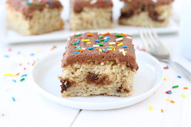 Banana Nutella Cake with Nutella Frosting | Banana Cake Recipe | Two ...