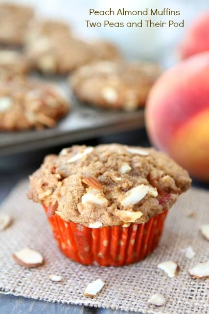 Peach Almond Muffins Recipes — Dishmaps