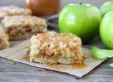 Salted Caramel Apple Crumb Bars from Two Peas and Their Pod (www.twopeasandtheirpod.com)