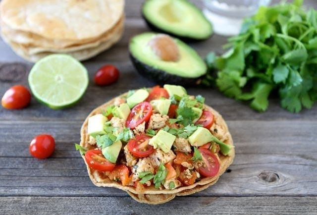Vegan Meal Plan // Tofu Tostadas