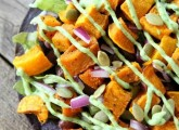Butternut Squash Black Bean Tostadas | Two Peas and Their Pod #recipe #vegetarian #gluten_free