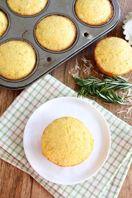 Cheddar Rosemary Corn Muffins | Cheddar Corn Muffin Recipe ...