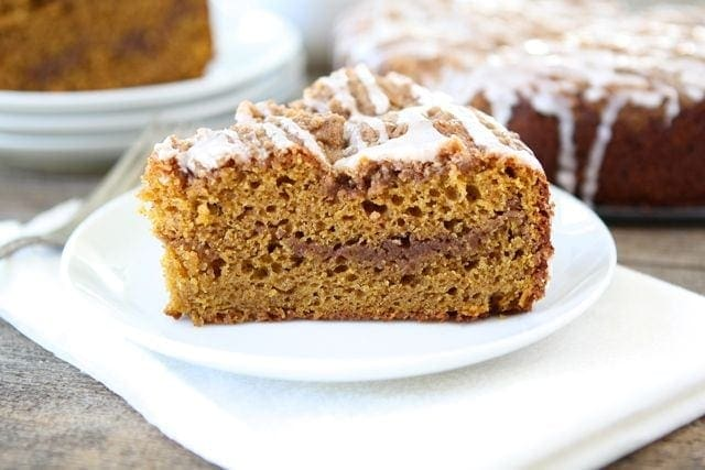 Apple pumpkin coffee cake recipe