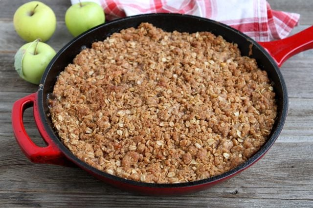 Apple Cinnamon Crumble | Apple Crumble Recipe | Two Peas & Their Pod