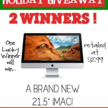 Ultimate Holiday Giveaway from 12 of the most popular bloggers! Enter to win at www.twopeasandtheirpod.com
