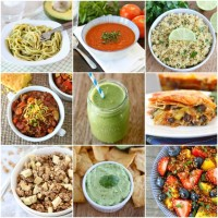 75 Healthy Recipes on www.twopeasandtheirpod.com #recipe #healthy