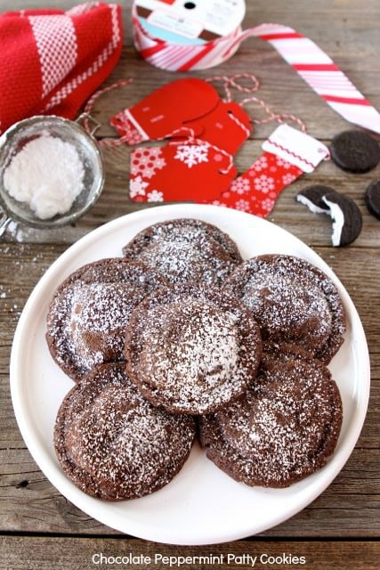 Chocolate Peppermint Patty Cookies | Peppermint Patty Cookies | Two ...