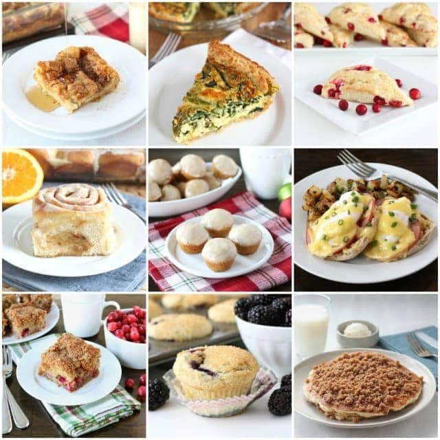 christmas brunch dishes