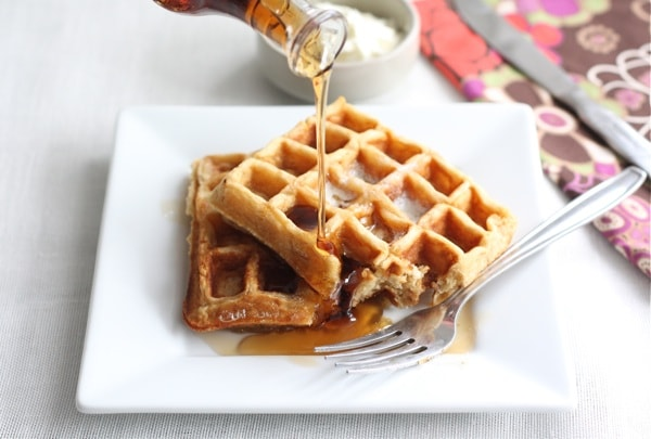Honey Yogurt Waffles Granola with Coconut, Dried Cranberries ...