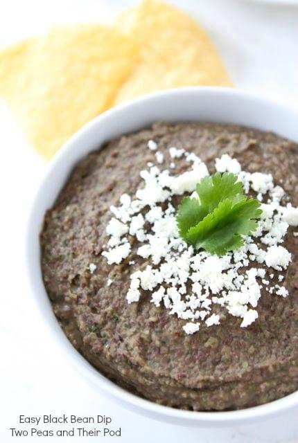 Easy Black Bean Dip Recipe — Dishmaps