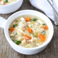 Lemon Chicken Orzo Soup Recipe from Two Peas and Their Pod #recipe #soup