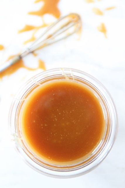 Salted Caramel Sauce Recipe | Two Peas & Their Pod