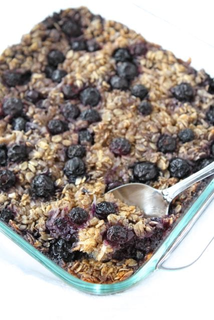 Baked Blueberry Coconut Oatmeal | Baked Oatmeal Recipe | Two Peas ...