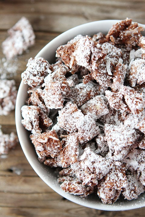 Chocolate Coconut Chex Mix | Chex Mix Recipe | Two Peas & Their Pod