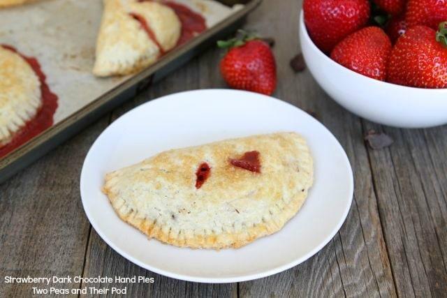 Strawberry Dark Chocolate Hand Pies | Hand Pie Recipe | Two Peas ...
