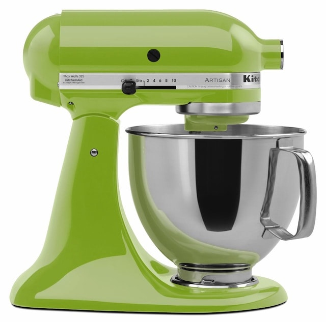 Green Kitchenaid Mixer Kitchen