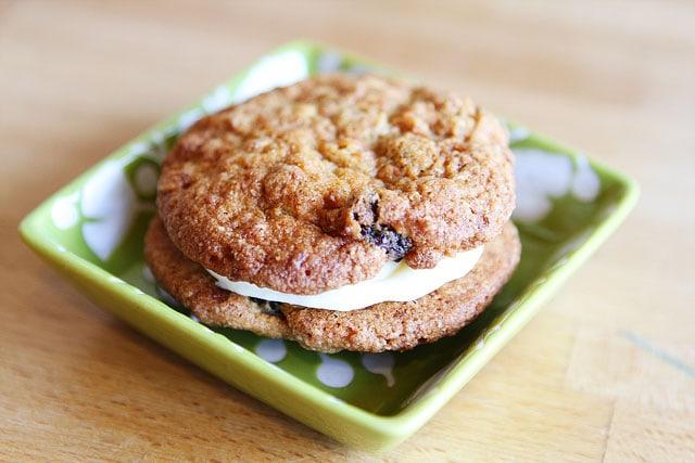 Carrot Cake Cookie Sandwiches Martha Stewart