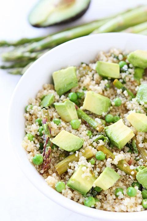 Spring Quinoa Salad | Quinoa Salad Recipe | Two Peas ...